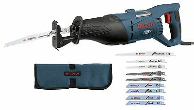 Bosch RS7 + RAP10PK 1-1/8-Inch 11-Amp Reciprocating Saw and 10-Piece General....