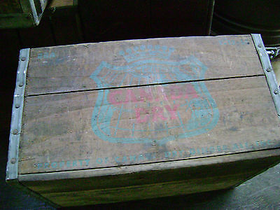 Vintage Canada Dry Wooden Soda Crate