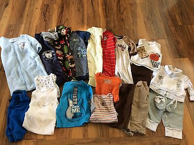 Baby Boy Winter Clothes Lot 6 Months - EUC - Carters , Vitamins Baby