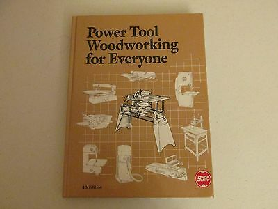 Shopsmith Power Tool Woodworking for Everyone book  Mark V 4th edition 1989 B