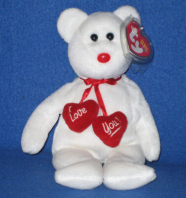 TY TRULY the BEAR BEANIE BABY - MINT with MINT TAG