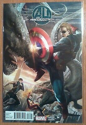 Age of Ultron #8 Variant 1:50 Cover - Marvel Comics - Avengers
