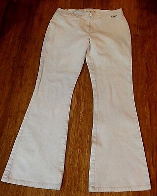 Look original Levis big E 1971 low rise hipster flares, stretch ladies size 8