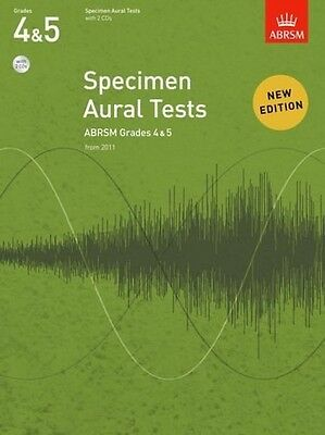 Specimen Aural Tests, Grades 4 and 5 With 2 CDs: New Edition From 2011 Aural