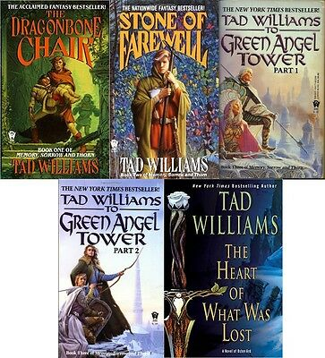 Tad Williams - Memory, Sorrow, and Thorn Trilogy audio book. MP3 DVD.