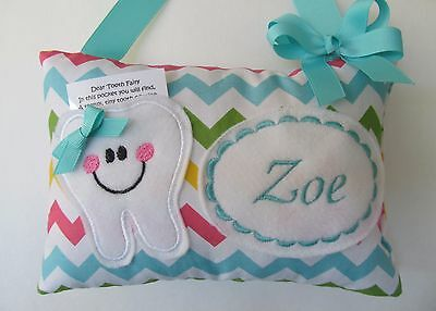 Tooth Fairy Pillow Personalized