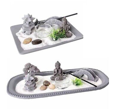 Buddha Zen Garden Tea Light Candle Holder Spiritual Home Decoration Ornament New