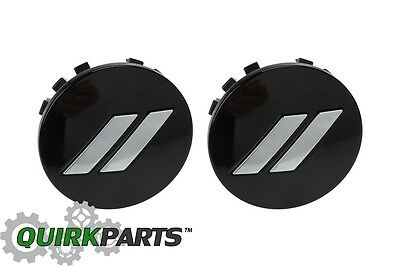"17-19 DODGE CHALLENGER CHARGER 20/"" WHEEL CENTER CAP GLOSS BLACK SET OF 2 MOPAR"