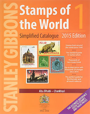 Stanley Gibbons WHOLE WORLD 6-volume STAMP catalogue: Retail $560 New Condition!
