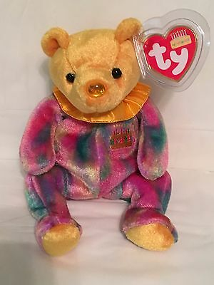 TY Birthday Baby - NOVEMBER the Birthday Bear -Pristine with Mint Tags -  RETIRED 2831cb5c5c06