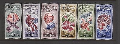 Russia 1977 Space Exploration canceled to order set 6 stamps