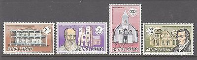 Samoa 1970 8th Anniversary Independence  Mint unhinged set 4 stamps