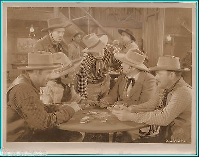 "JOHNNY MACK BROWN & CHARLES STEVENS in ""Flaming Frontiers"" - Original Photograph"