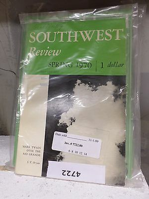 Southwest Review. Lot of 32 magazine journal 1950s - 70s