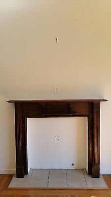 Antique Fireplace mantel mantle