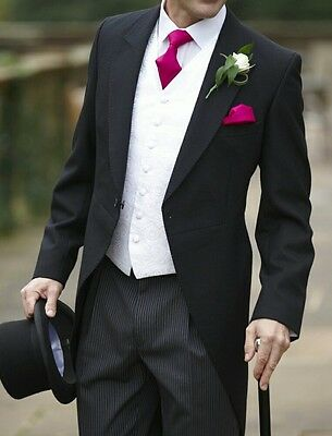 Ex Hire Black Or Navy Tail Suits Jacket And Trousers All Sizes