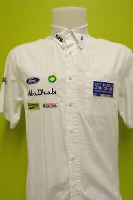 Wrc Bp Ford World Rally Team M Sport Team Issue Shirt Mens Small