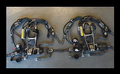 Scott 3.0 AP50 SCBA Harness w/ Integrated EBSS Buddy Breathing Nice Condition