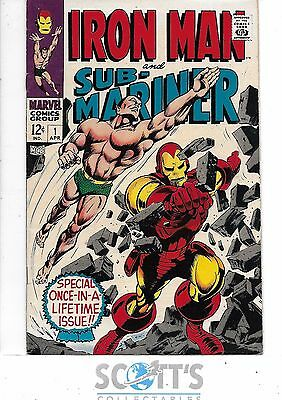 Iron Man & Submariner  #1  VF-