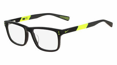 Nike 5536 Black With Yellow Volt 010 Eyeglasses