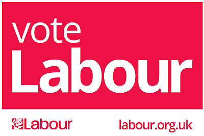 Voting Labour Poster - 4 SIZES + LAMINATED OPTION  Jeremy Corbyn Election Vote