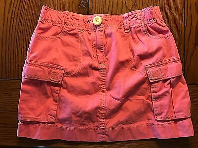 *MINI BODEN* Girls Pink Cargo Skirt Size 9-10Y