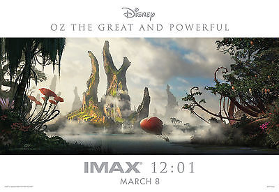 OZ THE GREAT & POWERFUL Mini Movie Poster - Midnight IMAX Exclusive - 13X19""