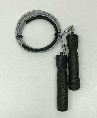 Speed Skipping Rope (Adjustable) - Crossfit, Boxing, Fitness - Quality made