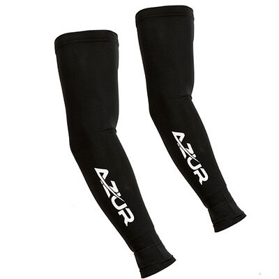 Azur Long Sleeve Arm Warmers Bicycle Arm Sleeves with UV Protection for Bike Rid