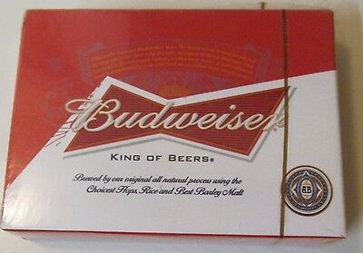 Budweiser Playing Cards, #159438, New - Sealed