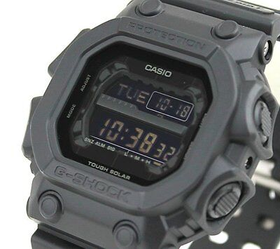 CASIO G-Shock GX56BB-1 All Matt Black Out Monotone LCD Solar X-Large !