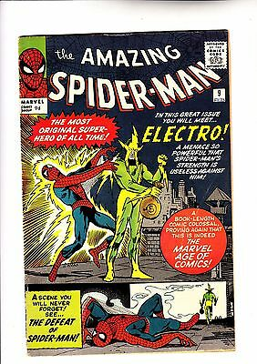 Amazing Spider-Man 9 1st app of Electro