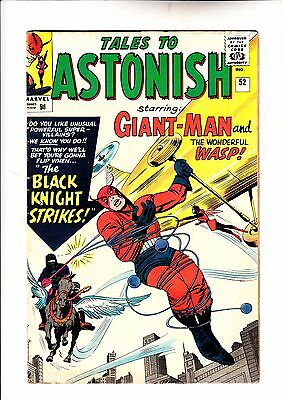Tales to Astonish 52 Giant -Man and Wasp 1st app of The Black Knight