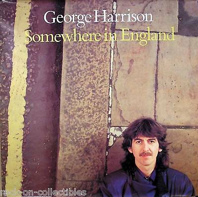 The Beatles George Harrison 1981 Somewhere In England Original Poster