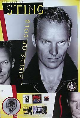 The Police Sting 1993 Tales Fields Of Gold Original Promo Poster