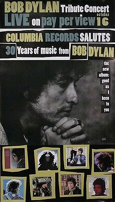 Bob Dylan 1992 Good As I Been To You Original Promo Tribute Poster