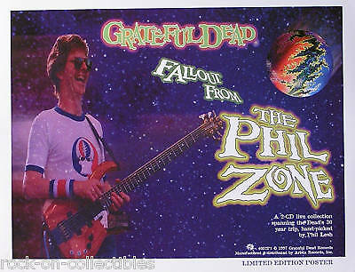 Grateful Dead 1997 Fallout From The Phil Zone Poster Original