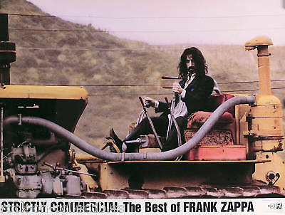 Frank Zappa 1995 Strictly Business Best Of Original Promo Poster