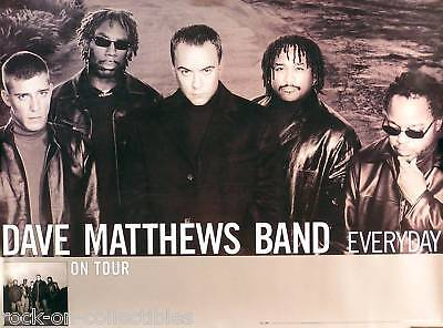 Dave Matthews Band 2001 Everyday Tour Promo Poster