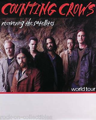 Counting Crows 97 Recovering The Satellites Tour Poster