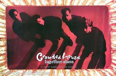 Crowded House 1994 Together Alone Promo Poster