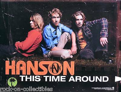 Hanson 2000 This Time Around Original Promo Poster