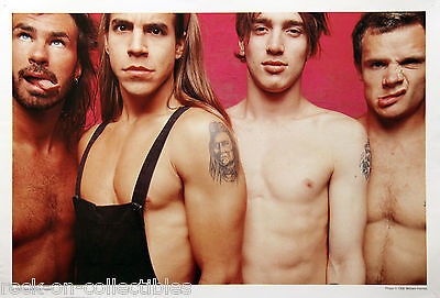 Red Hot Chili Peppers 1990 Japan Exclusive Promo Poster RHCP 'Pink' Mothers Milk