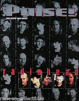 Radiohead 2001 July Pulse Magazine Cover Poster
