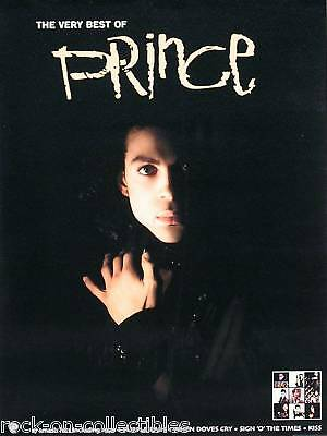 Prince 2001 The Very Best Of Prince Original Promo Poster