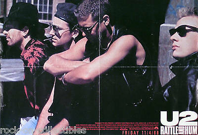 U2 1988 Rattle And Hum Original Movie Poster Original