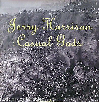 Talking Heads Jerry Harrison 1988 Casual Gods Poster