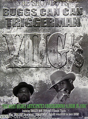 The Showboys 2000 Buggs Can Can Triggerman Original Promo Poster