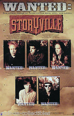 Storyville 1996 A Piece Of Your Soul Promo Poster Original