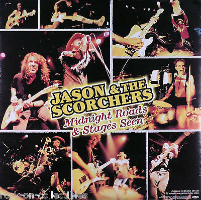 Jason & The Scorchers 1998 Midnight Roads Double Sided Promo Poster